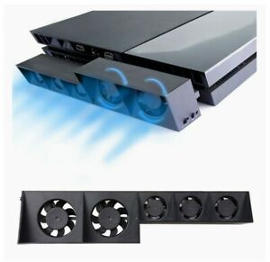 USB Temperature Cooling Cooler Fan for Sony Playstation 4 PS4 Pro Game Console