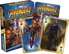 AVENGERS INFINITY WAR - PLAYING CARD DECK - 52 CARDS NEW - MARVEL MOVIE 52557