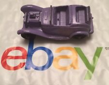 Vintage Tootsietoy Diecast Ford Model A/B Roadster # 4 w/ Rumble Seat - Lavender
