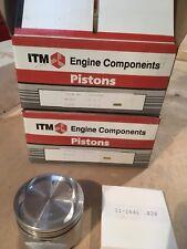 Honda Accord DX/LX Piston Set .020 BS1/A20A1 1955cc 1986-89 RY6394-020 W/Rings.