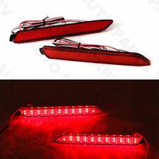 Pair LED Rear Bumper Reflector Light for Toyota Camry Reiz Sienna Venza Matrix