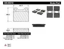 Disc Brake Pad Set-FWD Rear,Front Centric 300.00310