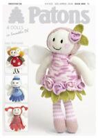 Patons 4 Dolls Knitting Pattern