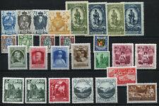 Liechtenstein Lot ab 1920-1937 **, Inhalt siehe Scan
