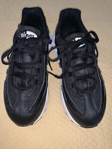 Nike Air Max 95 BLACK WHITE ANTHRACITE Size 3Y 905461-026 Preowned Year 2018