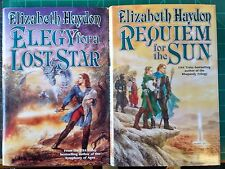 Elizabeth Haydon - Requiem for the Sun & Elegy for a Lost Star 1st Ed Hardcovers