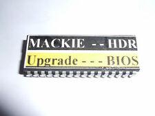 Mackie HDR 24/96 - aggiornamento del BIOS per consentire l'utilizzo di dischi rigidi più grandi fino a 120 GB