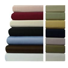 "Cal-King Size Bed Sheet Set-22"" Super Deep Pocket 600TC Solid 100% Cotton Sheet"