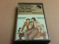 The Sting - SOUNDTRACK - cassette (1974, MCA / EMI Great Britain) English Import