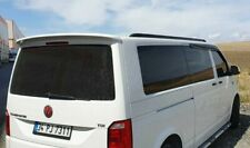 New Volkswagen Transporter T6 Black Aluminium Roof Rails Side Bars 2016-