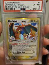 Pokemon Charizard Reverse Foil PSA 6 4/100 Ex Crystal Guardians