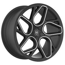 4 GWG BREMEN 20 inch Satin Black Machined Rims fits SCION TC 2011 - 2016