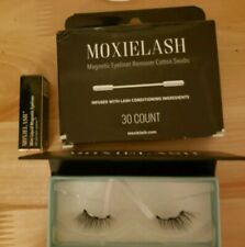 Moxielash Magnetic Lashes, (Baby Lashes), Travel Liner, 30 Pack Remover NEW
