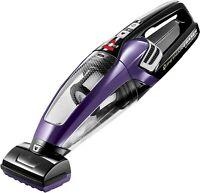 BISSELL Pet Hair Eraser Lithium Ion Cordless Hand Vacuum, Purple, 2390A