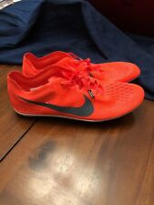 New Mens Nike Zoom Victory 3 Spikes Running Shoes Hyper Orange Black 835997-614