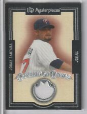 Johan Santana 2007 Upper Deck Masterpieces Captured On Canvas Twins