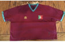 1974 vintage adidas official fifa portugal t-shirt w/patch 🇵🇹
