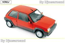 Renault SuperCinq GT Turbo de 1986 Red NOREV - NO 185208 - Echelle 1/18