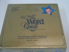 Tony Randall's Word Quest Vintage Game New Factory sealed