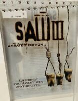 Saw 3 III (DVD, 2007, Unrated Widescreen)