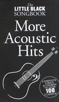 LITTLE BLACK SONGBOOK MORE ACOUSTIC HITS GUITAR*