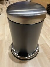 Ikea MJÖSA Pedal bin, dark grey Small Bathroom New
