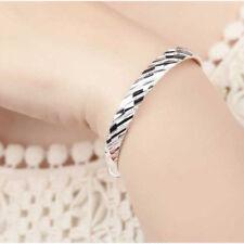 Fashion Women's Jewelry Silver Meteor Shower Bangle Bracelet