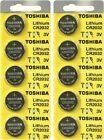 10 x New Original Toshiba CR2032 CR 2032 3V LITHIUM BATTERY BR2032 DL2032-EX2028