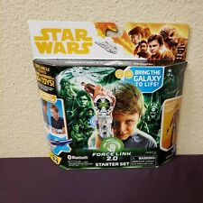 STAR WARS FORCE LINK 2.0 STARTER SET INCL. FORCE LINK WEARABLE TECHNOLOGY NEW