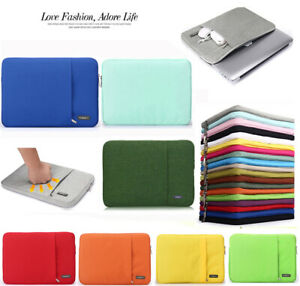 """Laptop Case Sleeve Carry Bag Cover Para Macbook 11"""" 12"""" 13"""" 14"""" 15"""" 16"""" HP Dell"""