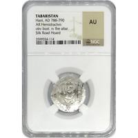 Tabaristan Hani, AD 788-790 NGC AU ***Rev Tye's Stache*** #411477