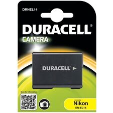 Duracell DRNEL14 Replacement Digital Camera Battery for Nikon EN-El14 New Uk