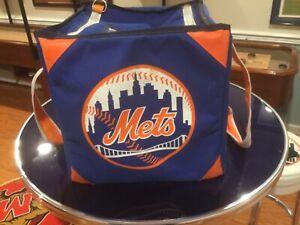 Game used New York Mets baseball bag