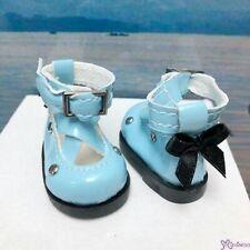 Yo SD OB Male 1/6 Bjd MCC S Size Doll Shoes Butterfly Bow Mary Jane BLUE YK09BLE