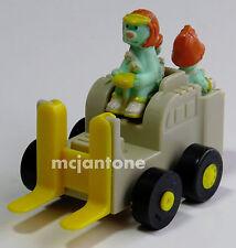LOOSE McDonald's 1987 TEST MARKET Fraggle Rock COTTERPIN DOOZER Forklift Dozer