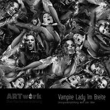 Wassertransferdruck Folie WTD Starterset 1m Vampire Lady + Aktivator