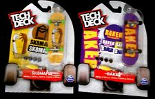 2 x TECH DECK 96 mm BAKER & SK8 MAFIA Both Series 5 FINGERBOARD SKATEBOARDS, NEW