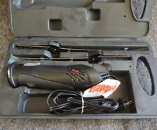 Rapala Electric Fish Fillet Knife Set w/ Hard Case & 2-Blades black