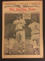 1964 Sporting News BOSTON RED SOX Dick RADATZ No Label MONSTER on the MOUND