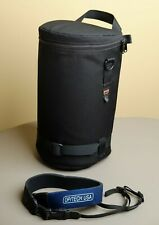 """Lowepro Lens Case 5 for Large Telephoto 6"""" x 12"""" interior + Deluxe Camera strap"""