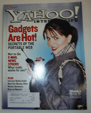 Yahoo! Magazine Monica Lewinsky & Internet Radio Guide February 2001 032015R