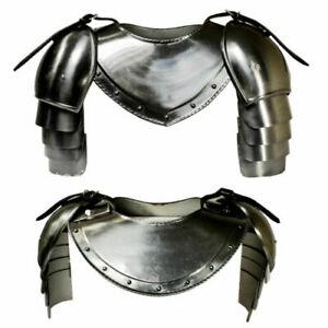 Medieval Gothic Armor Harness Knight Helmet Larp Reenactment Sca