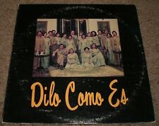 Dilo Como Es Self-Titled~AUTOGRAPHED~RARE Private Mexico Import Christian Gospel