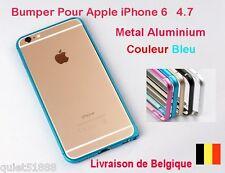 0.7mm BUMPER METAL ALUMINIUM HOUSSE COQUE Etui  POUR IPHONE 6  bleu