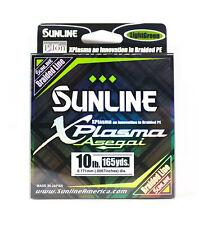 Sunline Asegai Xplasma Braided Línea 165yds P.E 1 10lb Light Green (5004)
