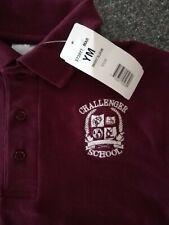 New With Tag Youth Medium 10-12 Challenger School Uniform Shirt Boys