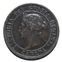 1900 Canada One 1 Cent - Victoria - Lot 1175