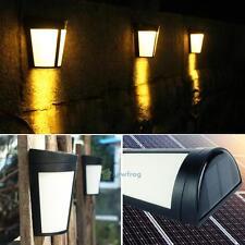 Solaire 6LED Lampe Applique Détecteur Mouvement Capteur Jardin Extérieur Etanche