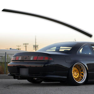 Fyralip Trunk Lip Spoiler For Nissan 240SX S13 Silvia 95-98 Coupe Unpainted