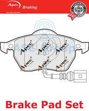 Apec Vorne Brems Scheiben Satz OE Qualität Ersatzteil mit Blinker Pad1110